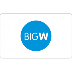 Big W Instant Gift Card - $250