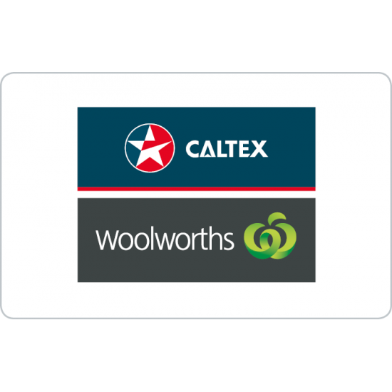 Caltex Woolworths Instant Gift Card - $250