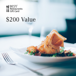 Dining Card - $200 Value