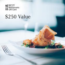 Dining Card - $250 Value