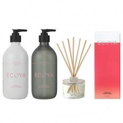 Ecoya Guava & Lychee The Fragrant Bathroom Set