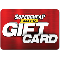 SuperCheap Auto Instant Gift Card - $50