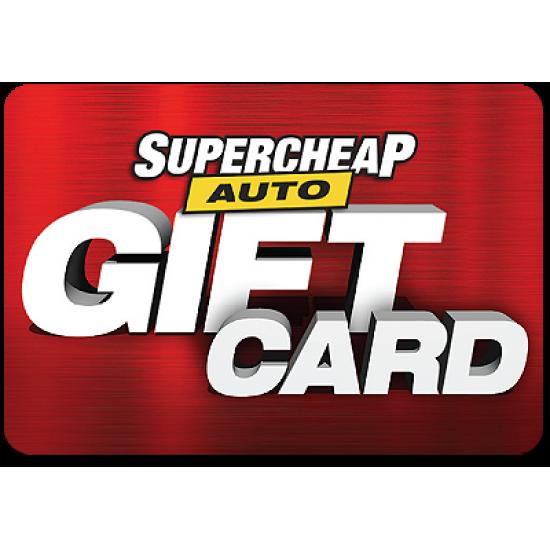 SuperCheap Auto Instant Gift Card - $250