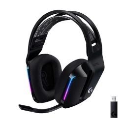 Logitech G733 Lightspeed Wireless RGB Gaming Headset (Black)