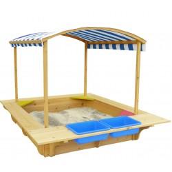 Lifespan Kids Playfort Sandpit (Blue Canopy)