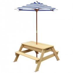 Lifespan Kids Sunrise Sand & Water Table with Umbrella