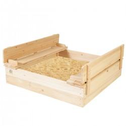 Lifespan Kids Strongbox 2 Square Sandpit