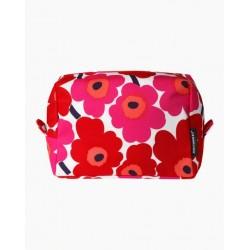 Marimekko Vilja Unikko Red Cosmetic Bag