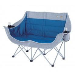 Oztrail Galaxy 2 Seater Chair OSFA Grey