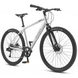 Progear Brooklyn Urban 650B Street Hybrid Bike - Stainless