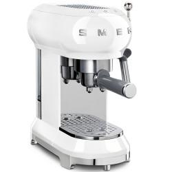 Smeg 50s Retro Style Coffee Machine - White
