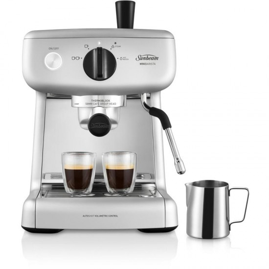 Sunbeam Mini Barista Espresso Machine - Silver