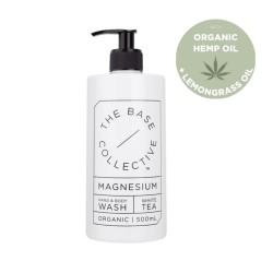 The Base Collective Hemp, Magnesium & Lemongrass Body Wash 500ml