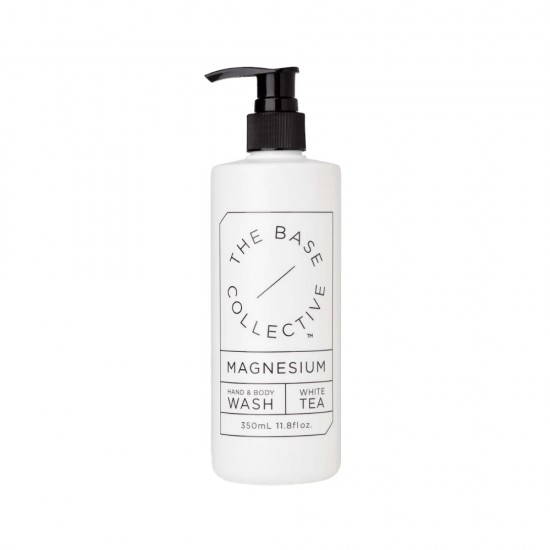The Base Collective Magnesium & White Tea Hand & Body Wash 350ml