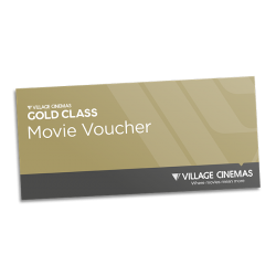 Village Cinema Gold Class Movie Voucher