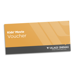 Village Cinema Children's Movie Voucher